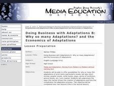 Doing Business with Adaptations B: Why So Many Adaptations? Lesson Plan
