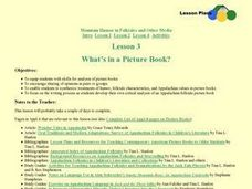 What's in a Picture Book? Lesson Plan