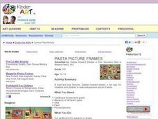 Picture Frame Lesson Plan