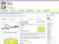 Patterns, Patterns, Patterns Lesson Plan