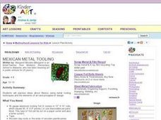 Mexican Metal Tooling Lesson Plan