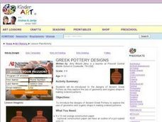 Greek Pottery Designs Lesson Plan
