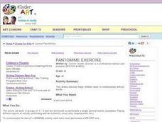 Pantomime Exercise Lesson Plan