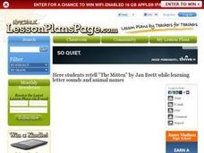 The Mitten by Jan Brett Lesson Plan
