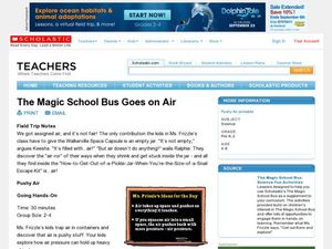 The Magic School Bus Goes on Air Lesson Plan