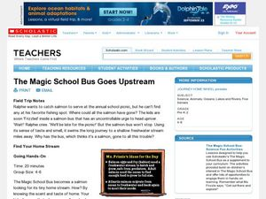The Magic School Bus Goes Upstream Lesson Plan