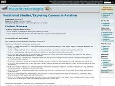 Exploring Careers in Aviation Lesson Plan