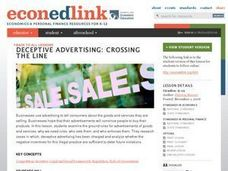 Deceptive Advertising: Crossing the Line Lesson Plan