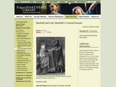 Macbeth and Lady Macbeth's Tortured Sonnet Lesson Plan