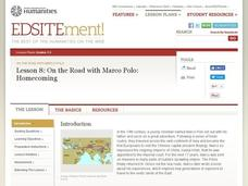 On the Road with Marco Polo: Homecoming Lesson Plan