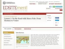 On the Road with Marco Polo: From Hormuz to Venice Lesson Plan