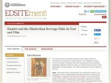 Hamlet and the Elizabethan Revenge Ethic in Text and Film Lesson Plan