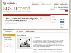 I Hear the Locomotives: The Impact of the Transcontinental Railroad Lesson Plan