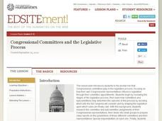 Congressional Committees and the Legislative Process Lesson Plan