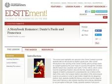 A Storybook Romance: Dante's Paolo and Francesca Lesson Plan