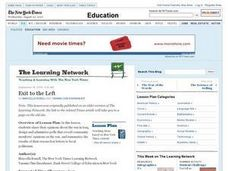 Exit to the Left Lesson Plan