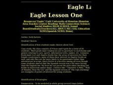 Eagle Lesson One Lesson Plan