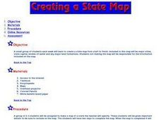 State Maps Lesson Plan