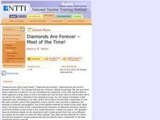 Diamonds Are Forever - Most of the Time! Lesson Plan