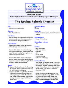 The Roving Robotic Chemist Lesson Plan