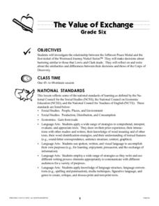 The Value of Exchange Lesson Plan