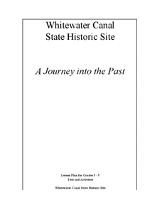 Whitewater Canal State Historic Site Lesson Plan