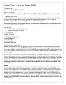Crustacens Lesson Plans & Worksheets | Lesson Planet