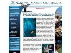 Exploring the National Marine Sanctuaries: A Lesson in Habitats and Human Impacts Lesson Plan