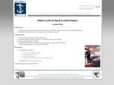 Sailor's Life at Sea (And a Little Poetry) Lesson Plan