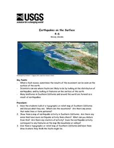 Earthquakes on the Surface Lesson Plan