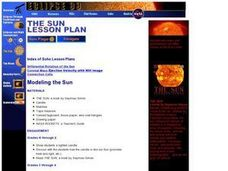 Modeling the Sun Lesson Plan