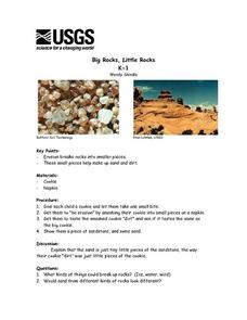 Big Rocks, Little Rocks Lesson Plan