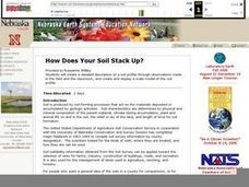 How Does Your Soil Stack Up? Lesson Plan