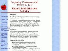 Hazard Identification Activity Lesson Plan