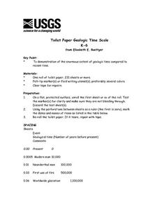 toilet paper geologic time scale - Geologic Time Scale Worksheet