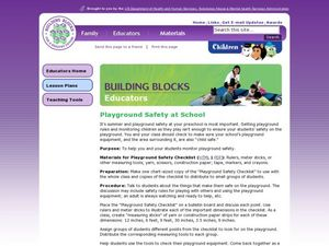 Playground Safety at School Lesson Plan