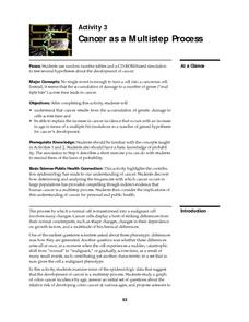 Cancer as a Multistep Process Lesson Plan
