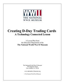 Creating Trading Cards:  A Technology Connected Lesson Lesson Plan