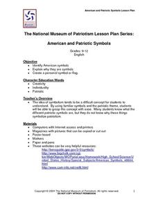American and Patriotic Symbols Lesson Plan