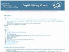 Literacy Map Activity Lesson Plan