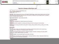 Figurative Language at Black Bayou Lake Lesson Plan
