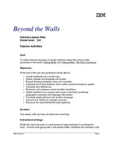 Beyond the Walls Lesson Plan