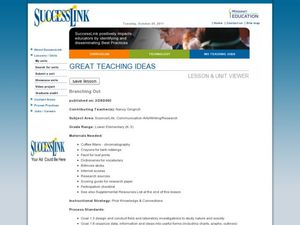 Branching Out! Lesson Plan