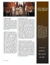 Children of Dune - Lesson Two Lesson Plan