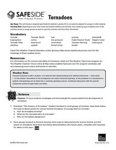 Tornadoes (Safeside) Lesson Plan