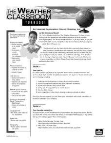 Storm Chasing, Inc. Lesson Plan