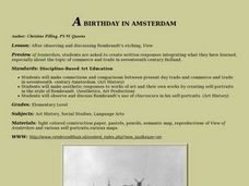 A  Birthday in Amsterdam Lesson Plan