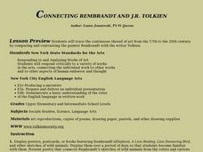 Connecting Rembrandt and J.R. Tolkien Lesson Plan