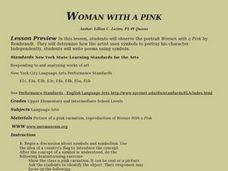 Women With a Pink Lesson Plan