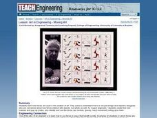 Art in Engineering - Moving Art Lesson Plan